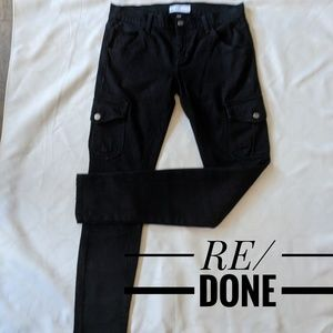 RE/DONE ORIGINALS COMFORT STRETCH MID-RISE JEANS